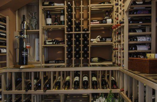 Seldes Tampa Designer Wine Cellar