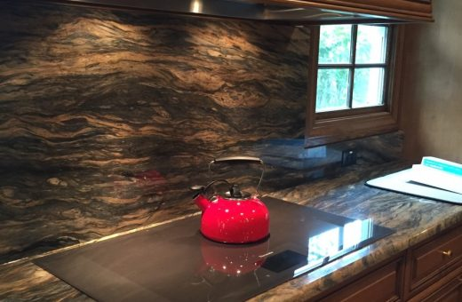 Seldes Tampa Designer Granite Backsplash