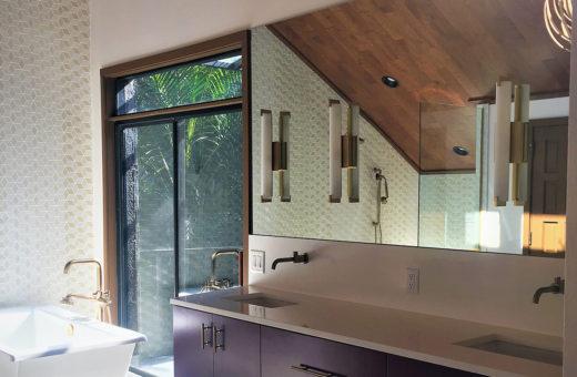 Johanna G Seldes IDC Tampa Designer Contemporary Master Bath