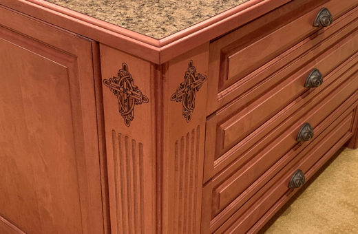 Johanna G. Seldes/IDC Interior Design Tampa Closet Cabinets